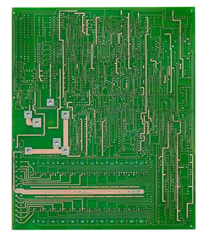 cnc电路板背面电路图