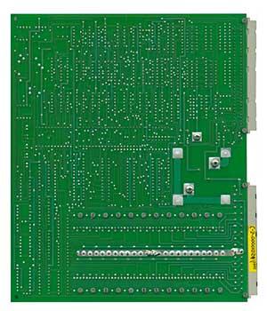 cnc机床电路板背面图