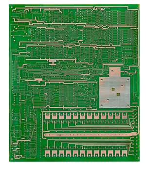 cnc电路板正面电路图