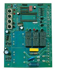 控制板正面元器件布局图
