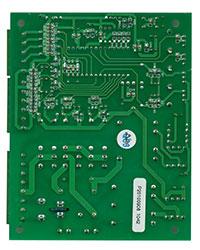 控制板背面元器件布局图