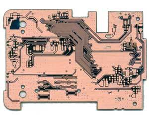 行车记录仪pcb背面线路图