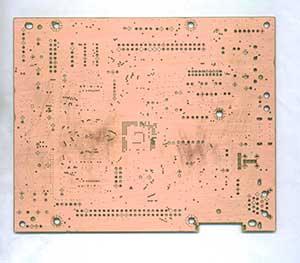 机顶盒控制主板正面pcb