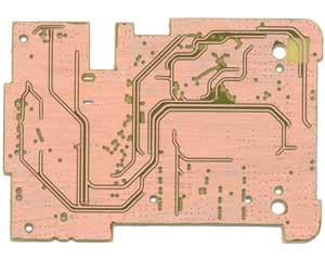 行车记录仪线路板正面布线