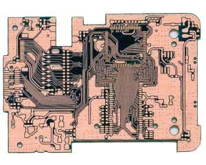 行车记录仪pcb正面电路图