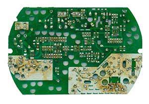 120w 24v 5a 电源板背面器件