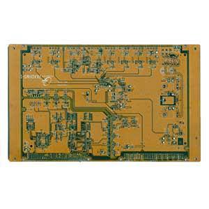 注塑机电脑板背面去除较高元器件后器件扫描