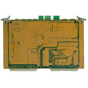 注塑机电脑板背面器件