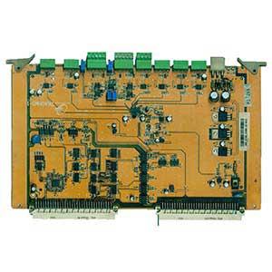 注塑机电脑板正面器件