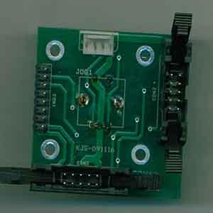 该pcb板是某公司的一款超声波焊接机主板,主板尺寸为50.