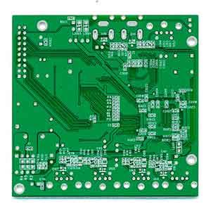 视频控制板原板背面